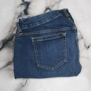 Torrid Barely Boot Dark Wash Stretchy Jeans Sz 16